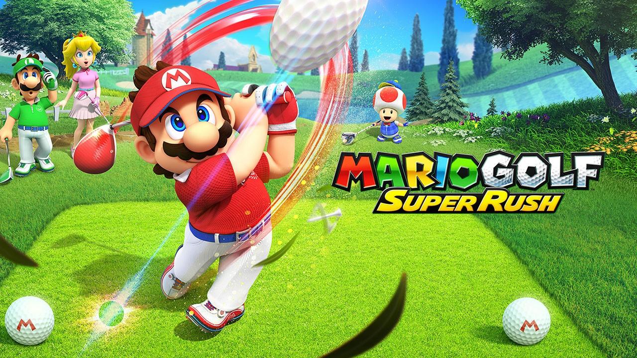 Mario Golf Super Rush nintendon