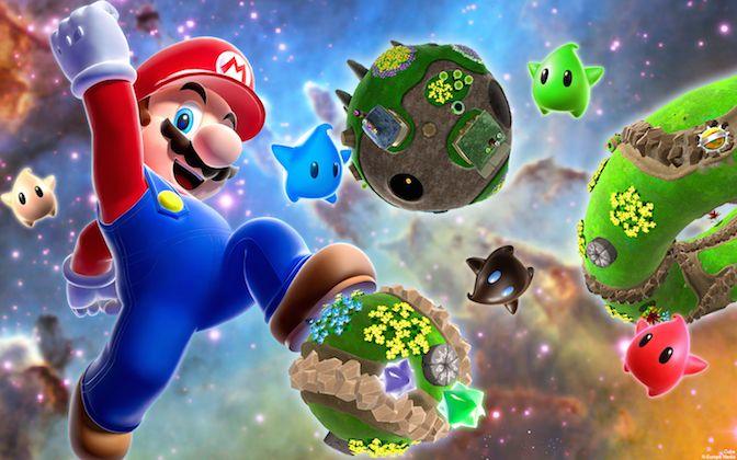 did you know gaming super mario galaxy