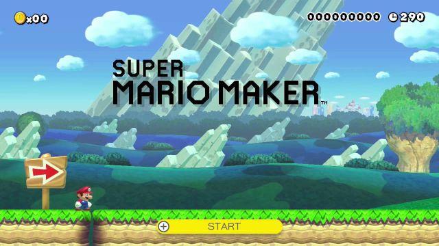 Super Mario Maker game design