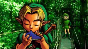 Zelda Adventure -saria-link-nintendon