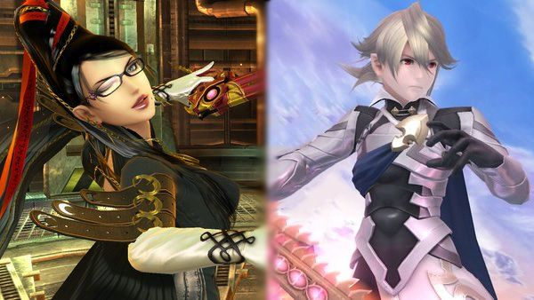 Bayonetta e Corrin in Super Smash Bros data d'uscita