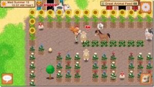 Harvest Moon: Seeds of Memories allevamento degli animali