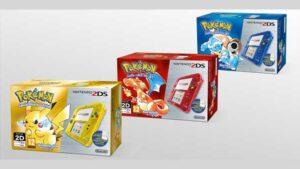 bundle 2ds pokémon virtual console blu rosso giallo Amazon rivela il prezzo Pokémon blu, rosso e giallo