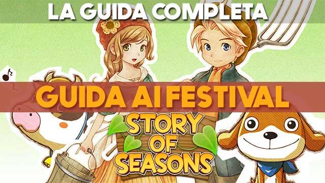 Story of Seasons: guida ai festival