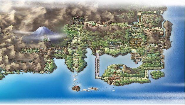 regione di Kanto Unreal Engine 4