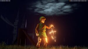 The Legend of Zelda: A Link to the Past Unreal Engine 4