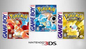 Pokémon Blu, Rosso e Giallo lingua e costi
