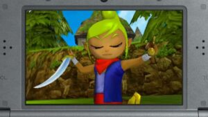 Hyrule Warriors Legends presenta Tetra con un trailer Master Wind Waker