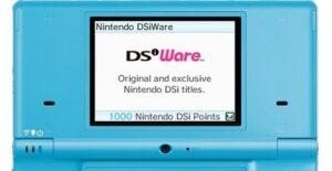 Nintendo DSi Shop