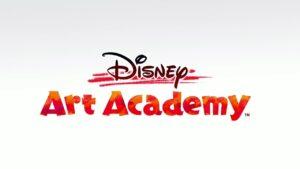 Disney Art Academy video gameplay
