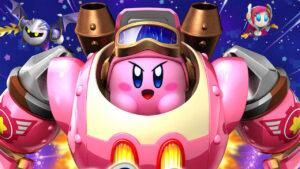 Kirby: Planet Robobot Amiibo gameplay Team Kirby Clash bonus preorder video Panoramica concept art