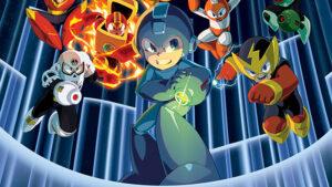Mega Man Logo Serie Animata