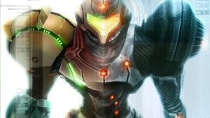 Samus Varia Suit Figure Statuina Metroid Prime Mark Pacini Retro Studios