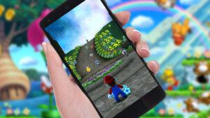 Nintendo Smartphone cellulare telefono joypad tablet