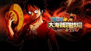 lanciato One Piece: Great Pirate Colosseum Nintendo 3DS sito teaser immagini dragon ball cross-play