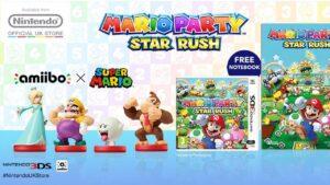 Mario Party: Star Rush poster Nintendo UK