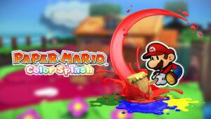 Boss Finale Paper Mario: Color Splash commercial video