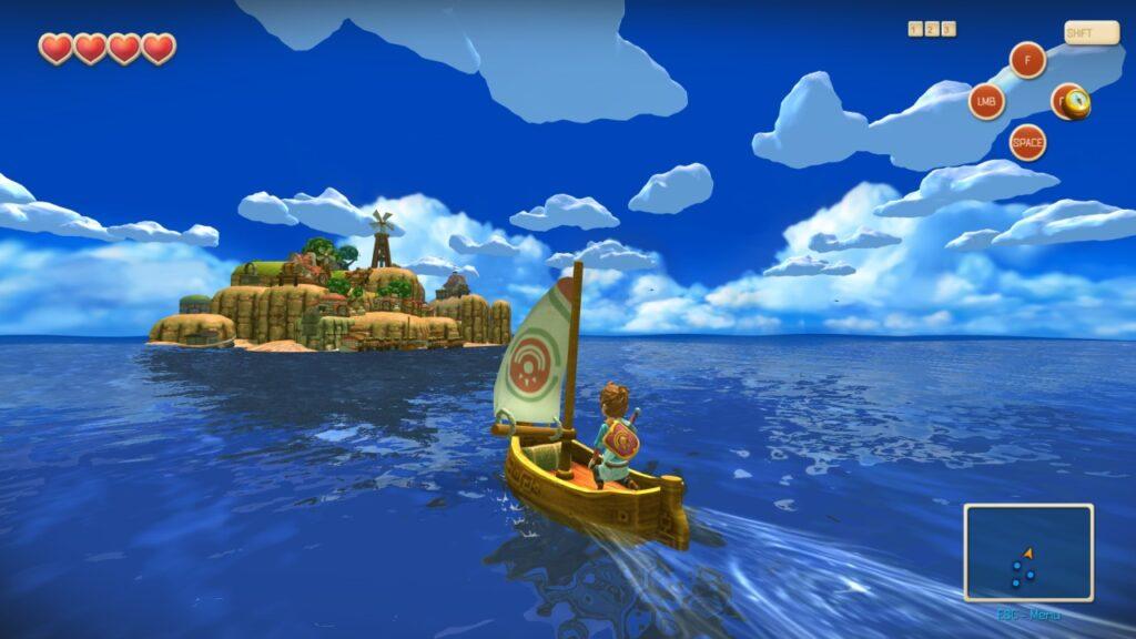 Oceanhorn Nintendo NX