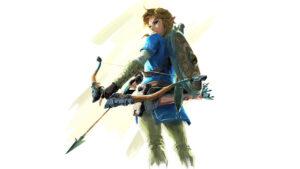 cancellata The Legend of Zelda: Breath of the Wild artwork cappello verde Link