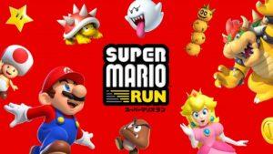 Super Mario Run dimensione del file