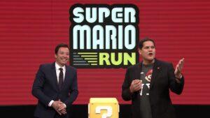 Jimmy Fallon Nintendo azioni
