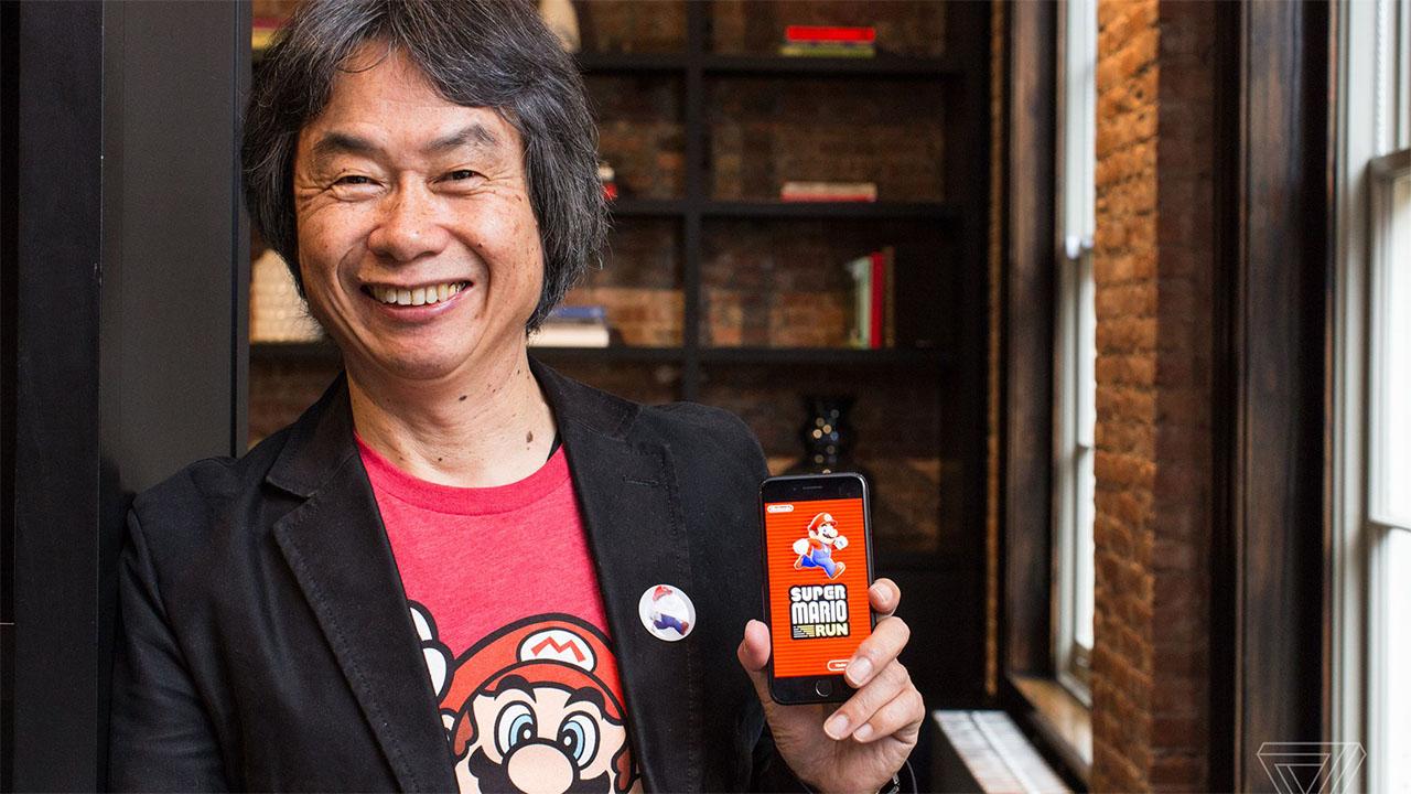 Super Mario Run Nintendo mobile