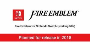 Fire Emblem Nintendo Switch