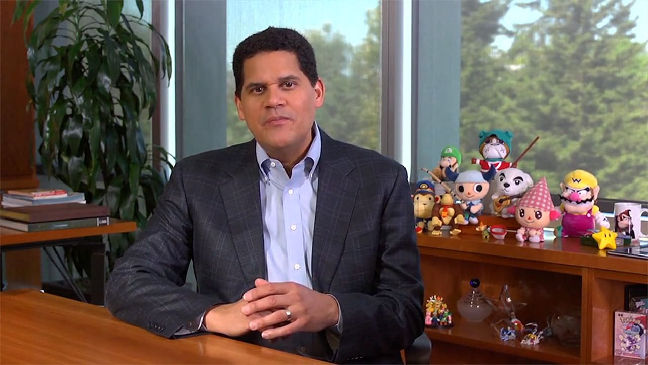 Reggie Fils-Aime Nintendo Switch Super Smash Bros. 3DS E3