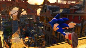 Sonic Forces altri personaggi Nintendo Switch gameplay