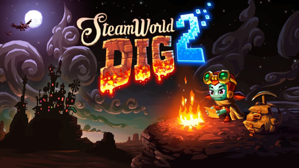 SteamWorld Dig 2 motore proprietario porting nintendo switch