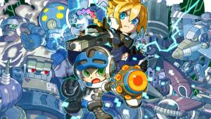 Mighty Gunvolt Burst versione fisica Azure Striker Gunvolt Keiji Inafune