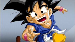 Goku Dragon Ball GT dlc di fighterZ