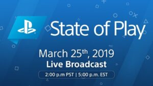 State of Play Playstation Direct