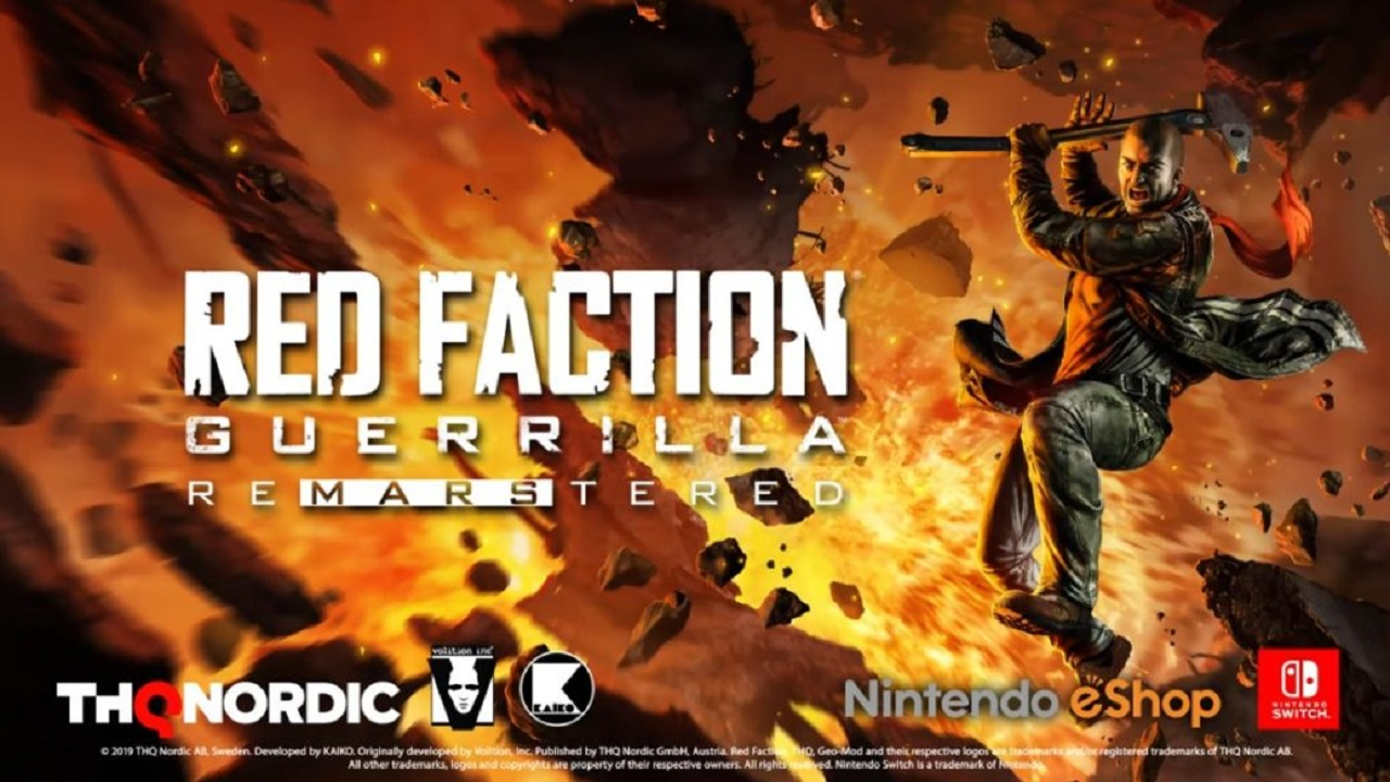 red faction guerrilla remarstered Nintendo Switch