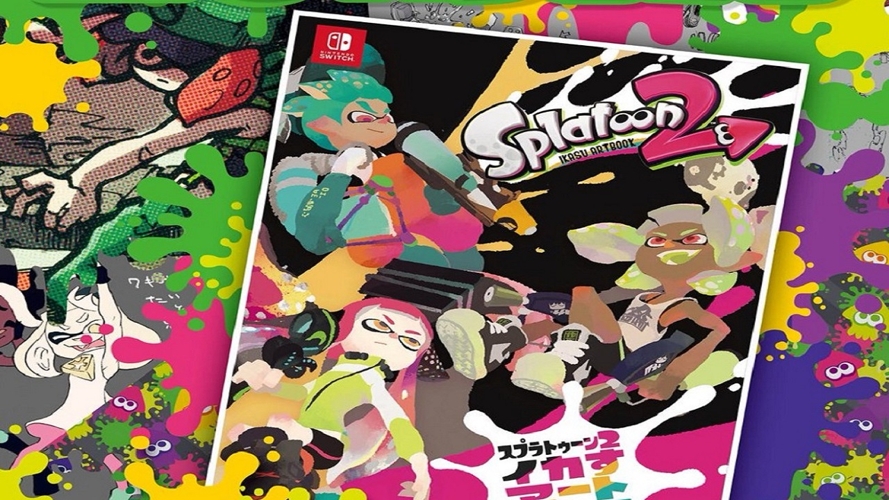 splatoon 2 artbook
