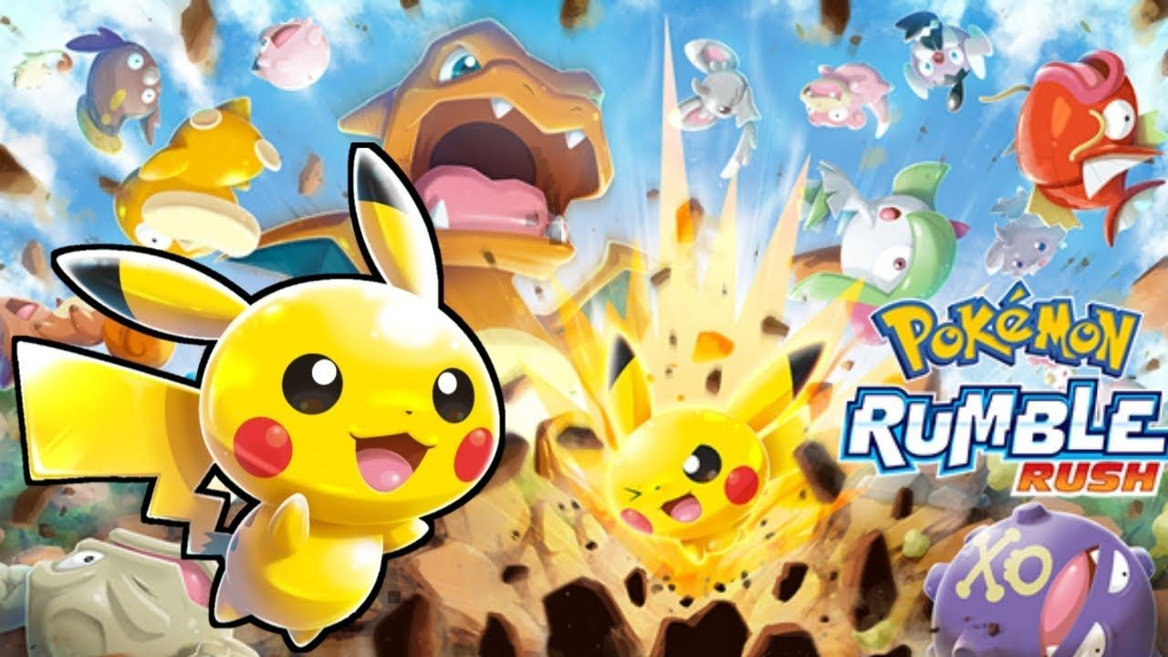Pokémon Rumble Rush per Android e iOS gameplay