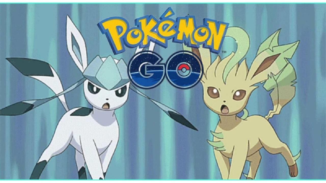 Pokemon-Go-Leafeon-Glaceon