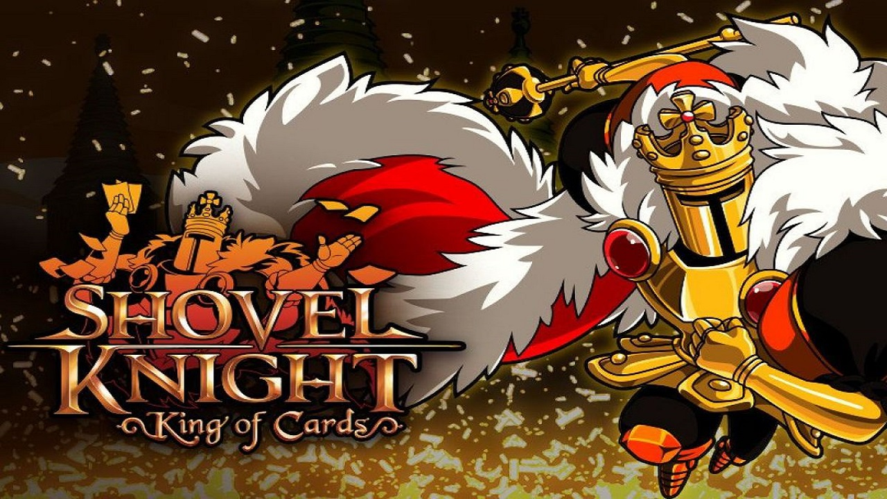 Shovel Knight king of cards switch