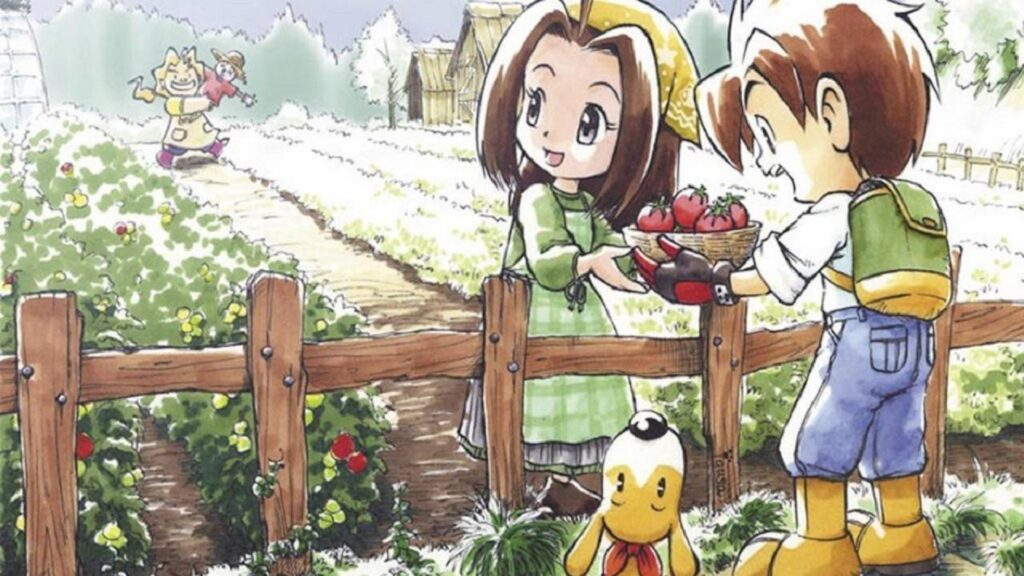 Harvest Moon Mad Dash NintendOn copertina