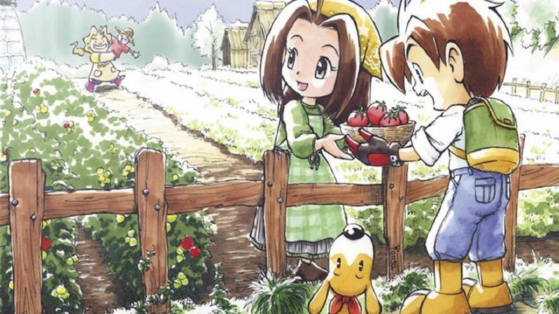 Harvest Moon Mad Dash NintendOn copertina
