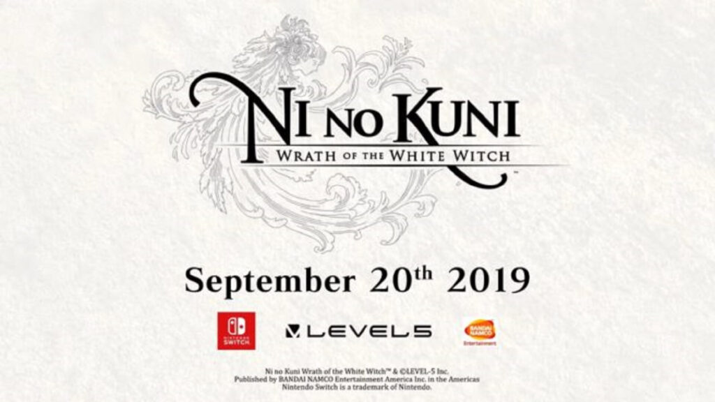 Ni no Kuni Wrath of the White Witch Nintendo Switch NintendOn