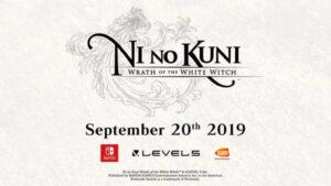 Ni no Kuni Wrath of the White Witch Nintendo Switch NintendOn