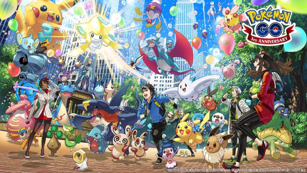Pokémon Go terzo anniversario NintendOn