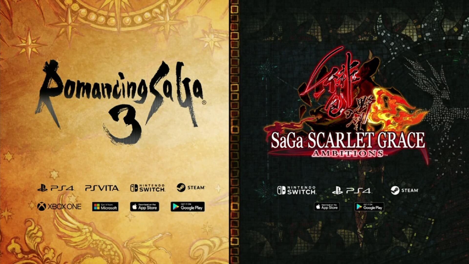Romancing SaGa3 SaGa Scarlet Grace Ambitions