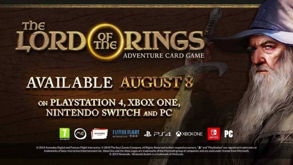 The Lord of the Rings: Adventure Card Game NintendOn Nintendo Switch