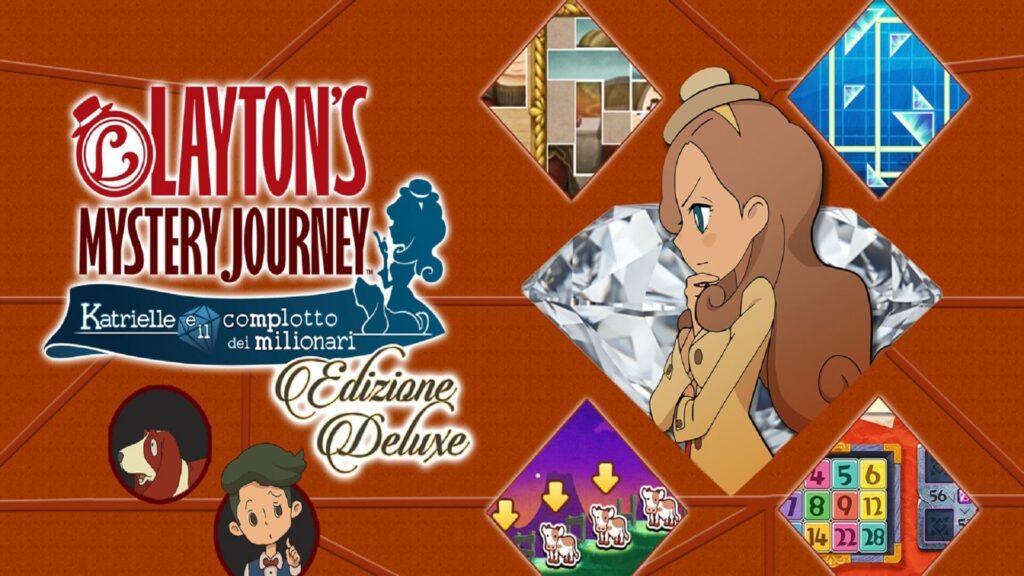 Layton's Mystery Journey Katrielle Nintendo NintendOn