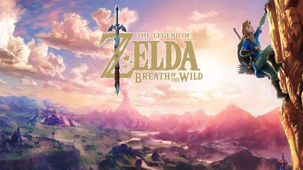 The Legend of Zela Breath of The Wild NintendOn isola Primula