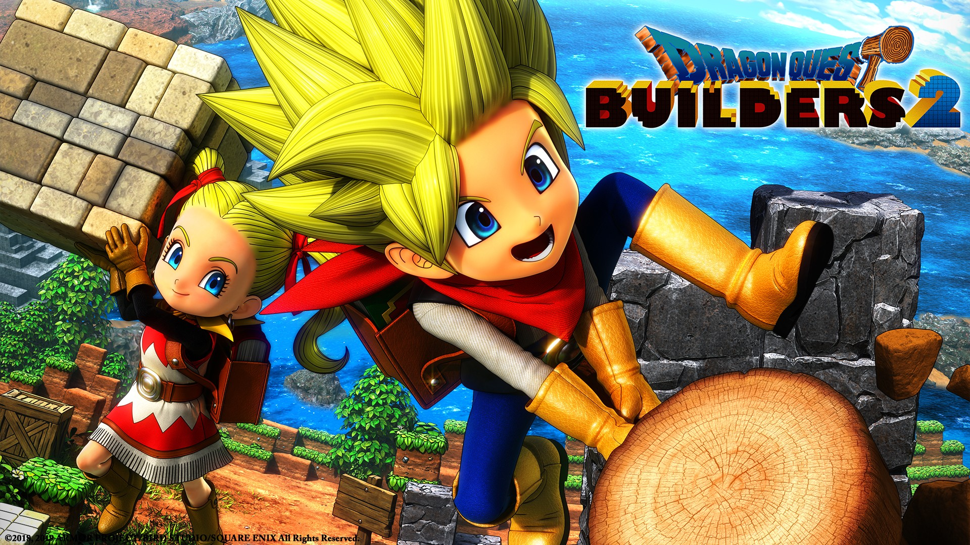 copertina Dragon Quest Builders 2 NintendOn
