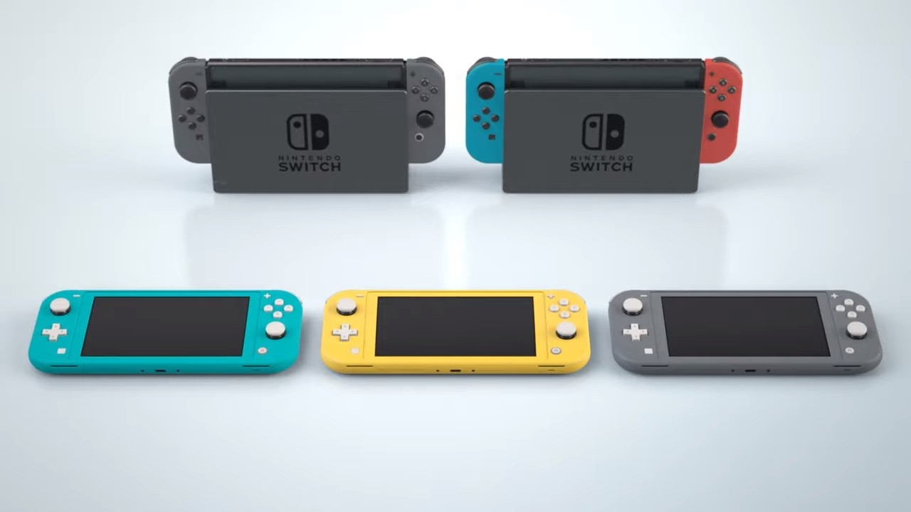 Nintendo-Switch-Lite-vs-Nitendo-Switch