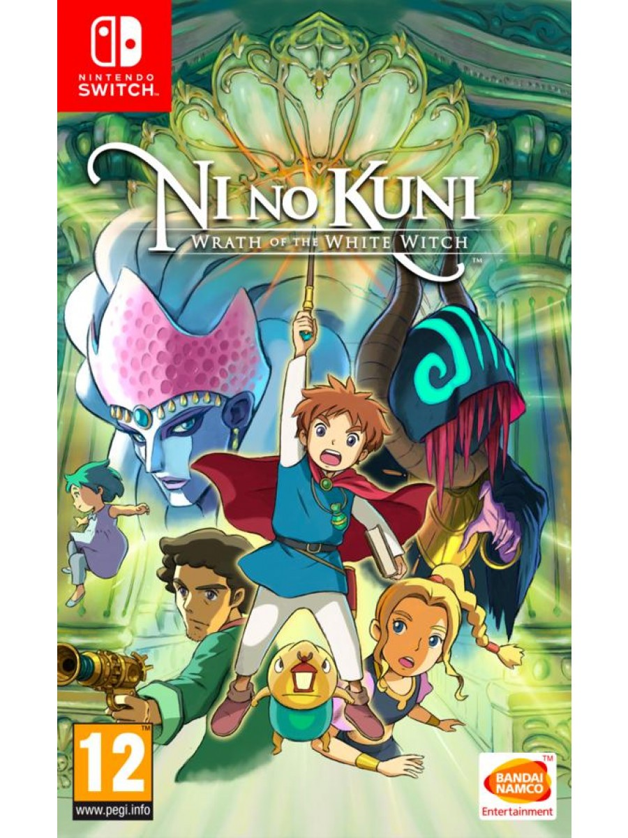 Ni No Kuni Switch Copertina